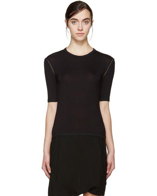 Denis Gagnon   Чёрный Ssense Exclusive Cotton T-Shirt