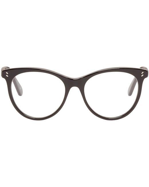 Stella Mccartney | Чёрный Black Round Optical Glasses