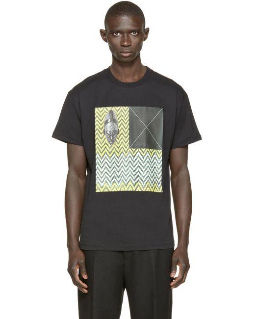 A.Sauvage | Мужское Чёрный Mc Doei Rapper T-Shirt