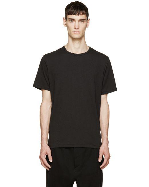 Rag & Bone | Мужское Чёрный Rag And Bone Perfect Jersey T-Shirt