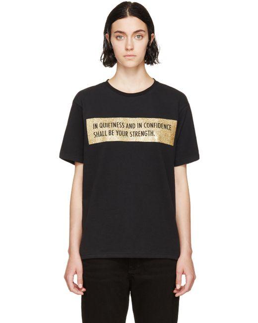 PALM ANGELS | Чёрный Quote T-Shirt