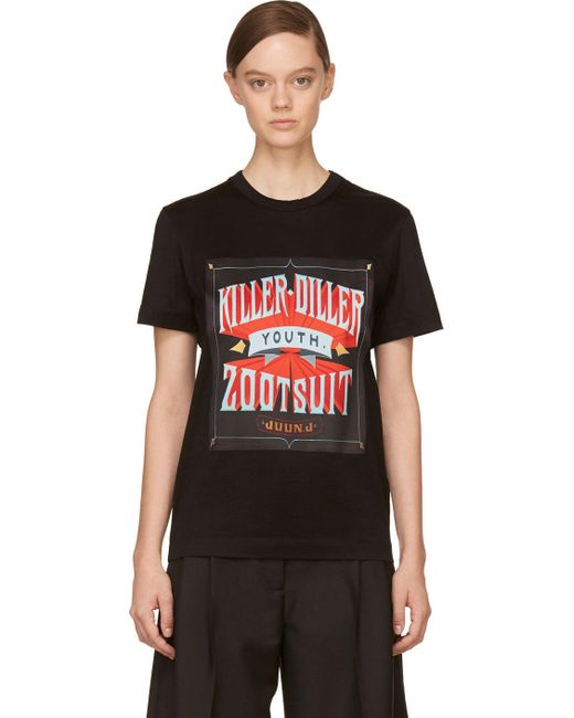 JUUN.J | Чёрный Killer-Diller New Era Edition T-Shirt