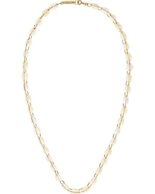 Isabel Marant | 23ec Ecru Ivory Seashell Raw Necklace
