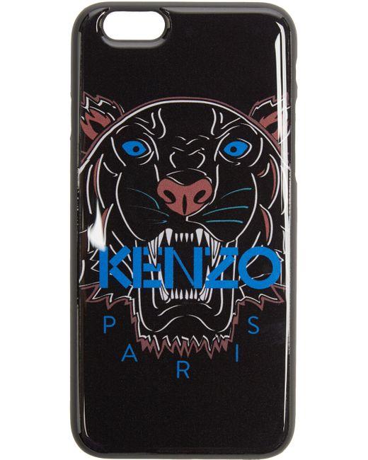 Kenzo   Чёрный Black Tiger Iphone 6 Case