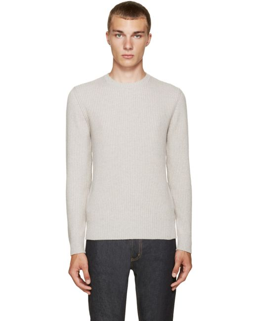 A.P.C. | Plb Gris Chine Grey Socks Sweater