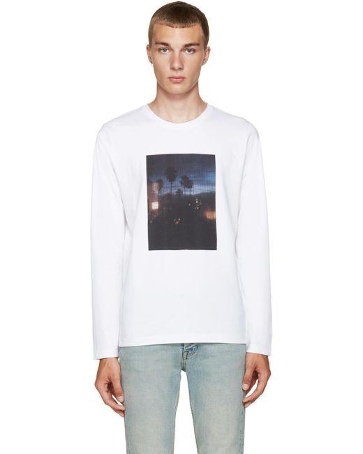 A.P.C. | Мужское Aab Blanc White La T-Shirt