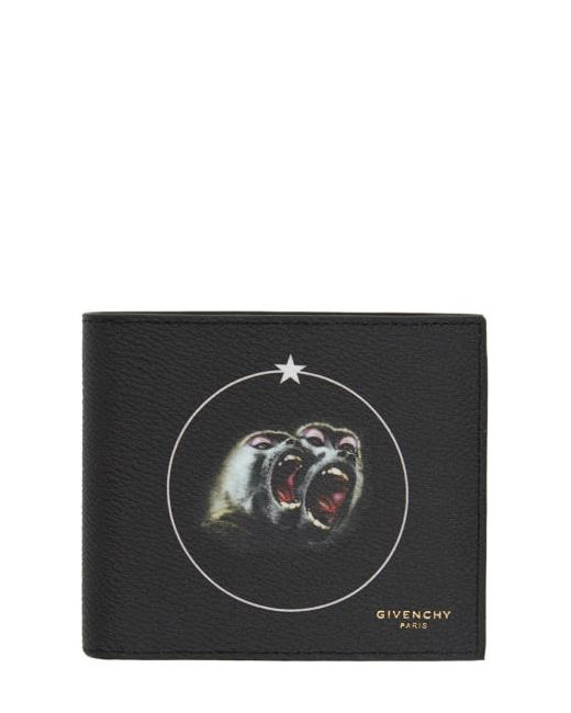 Givenchy | 960 Print Black Monkey Brothers Wallet