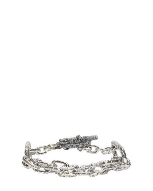 PEARLS BEFORE SWINE   Серебристый Link Bracelet