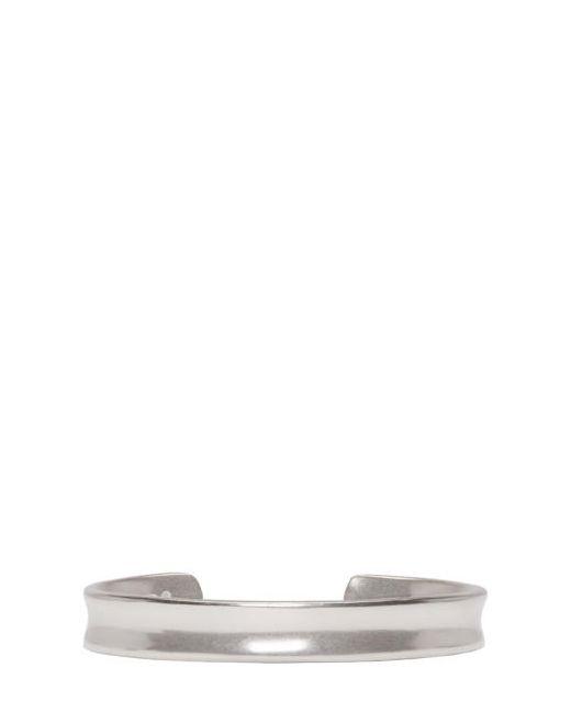 Maison Margiela   Серебристый Silver Cuff Bracelet