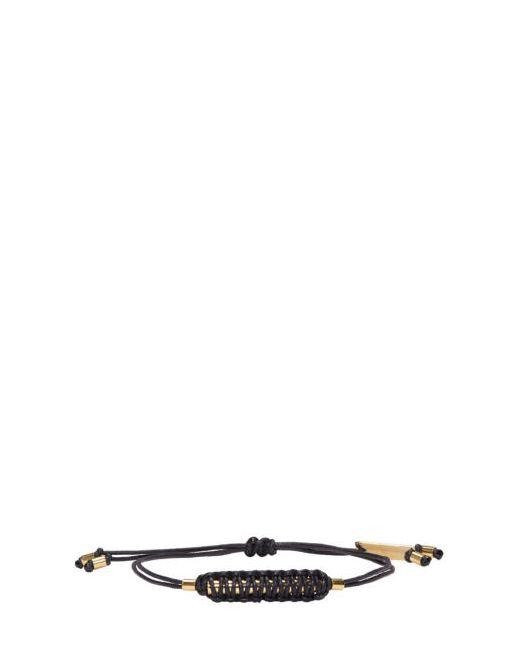 Isabel Marant   Чёрный Black Shadowy Rope Bracelet
