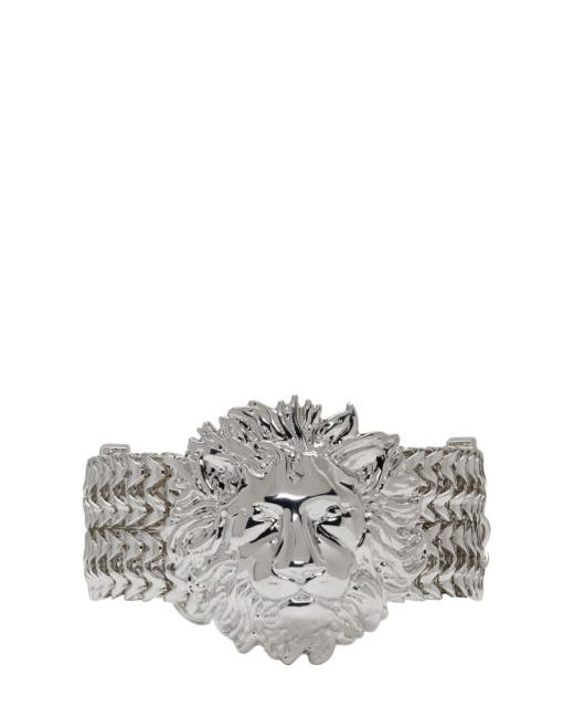 Versus | F00k Rodio Silver Lion Bracelet
