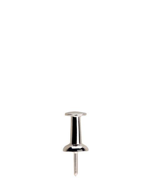 LAUREN KLASSEN   Серебристый Push Pin Single Earring
