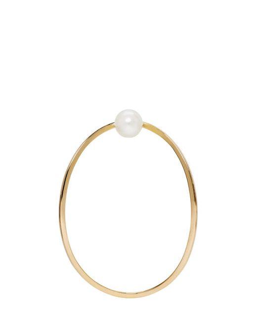 Delfina Delettrez | Золотой Gold Earclipse Earring