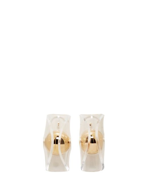 J.W. Anderson   Золотой J.W.Anderson Gold Globe Earrings