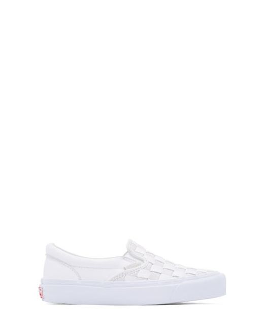 Vans | Белый White 50th Og Classic Lx Leather Slip-On
