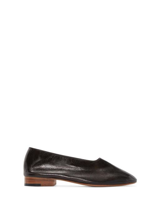Martiniano   Чёрный Leather Glove Flats