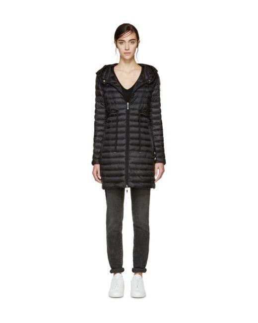 Moncler   Чёрный Black Down Barbel Jacket