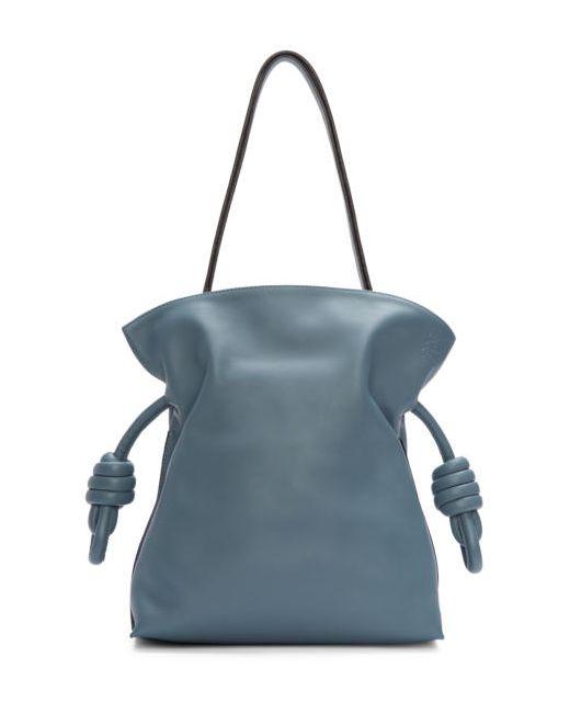 Loewe | Синий Blue Small Flamenco Knot Bag