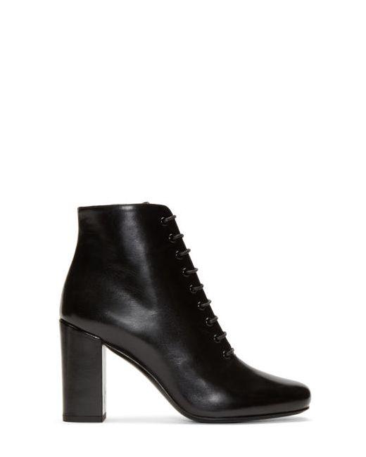 Saint Laurent | Чёрный Black Tripon Babies Boots