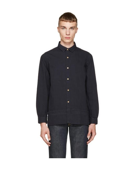 Visvim | Navy Long Rider Shirt
