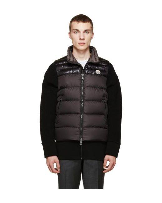 Moncler   Чёрный Black Down Dubres Vest