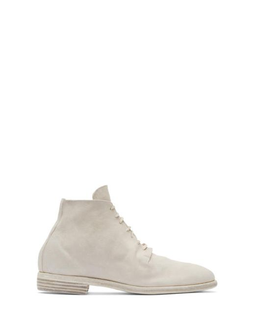 GUIDI | Серый Grey Suede Distressed Boots