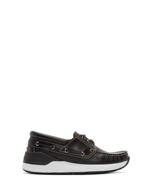 Givenchy | Чёрный Black Leather Hamptons Sneakers