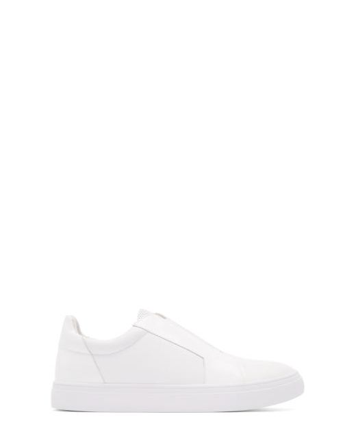 Tiger Of Sweden | Col Whc White Leather Slip-On Sneakers