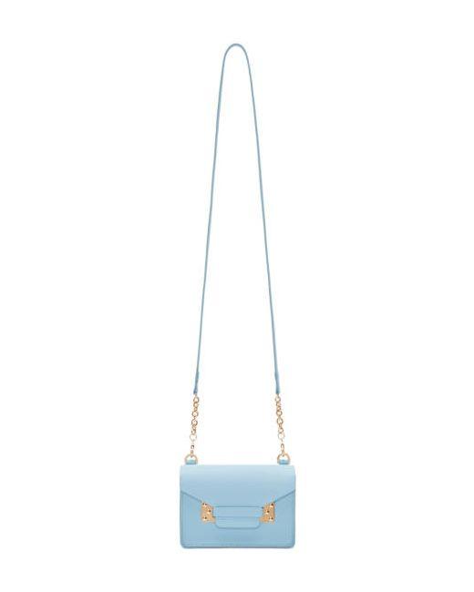 Sophie Hulme   Синий Ssense Exclusive Blue Nano Milner Envelope Bag