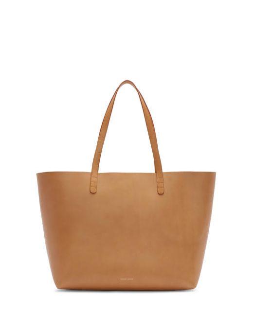 MANSUR GAVRIEL | Cammello & #47; Sun Tan Leather Large Tote
