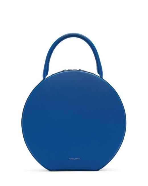 MANSUR GAVRIEL | Royal & #47; Royal Blue Leather Circle Bag