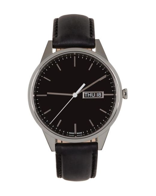 Uniform Wares | Чёрный Silver And C40 Watch