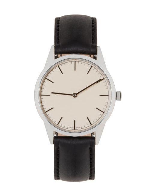 Uniform Wares | Steel Silver And Black C35 Watch