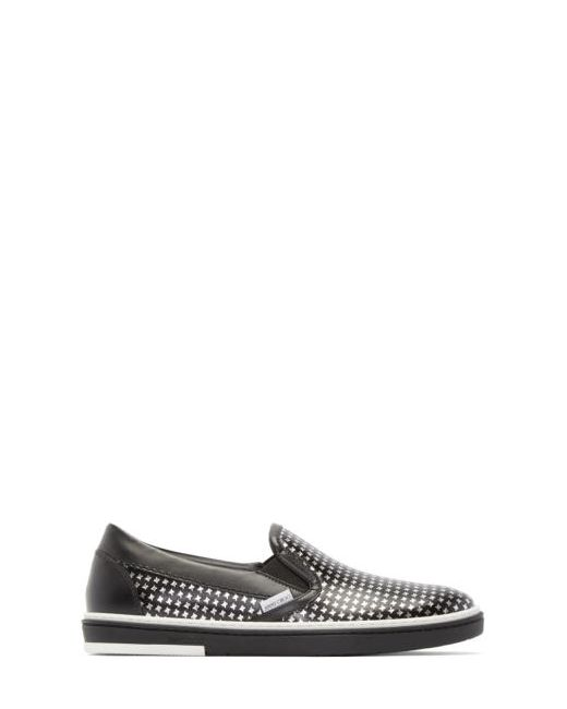 Jimmy Choo   Чёрный Black And Silver Houndstooth Grove Sneakers