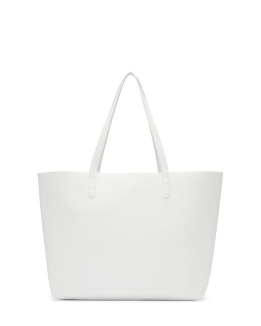 MANSUR GAVRIEL | Белый White Leather Large Tote