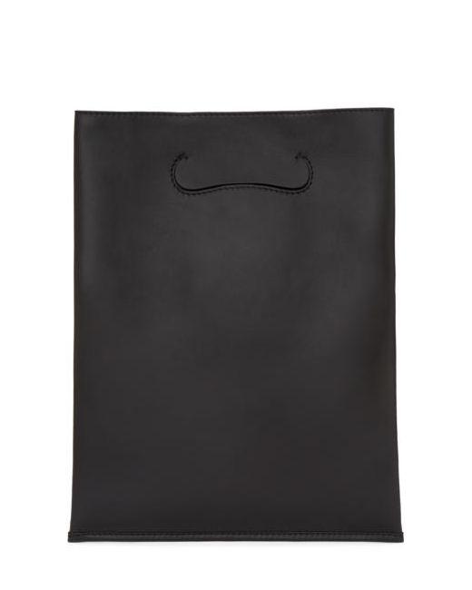 Maison Margiela | Чёрный Black Small Shopper Tote Bag