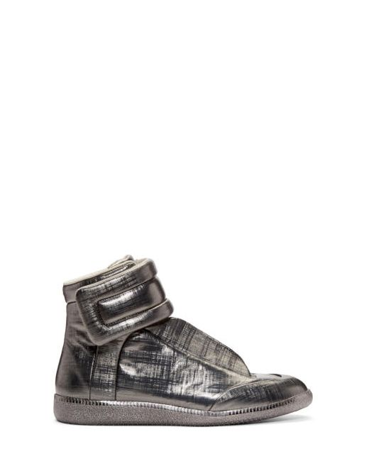 Maison Margiela | 859 Gunmetal Gunmetal Metallic Future High-Top Sneakers