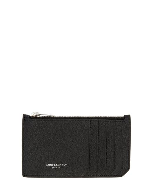 Saint Laurent | Чёрный Black 5 Fragments Card Holder