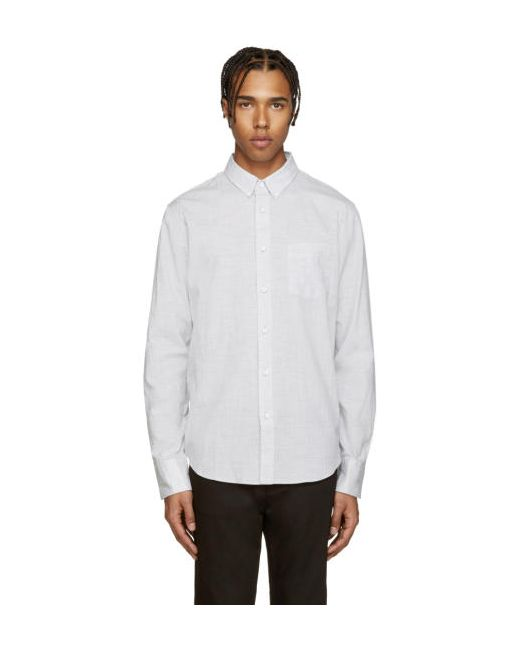 Rag & Bone | Серый Rag And Bone Yokohama Shirt