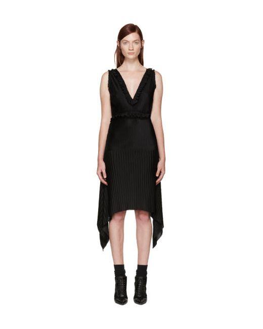 Givenchy   Чёрный Black Pleated Dress