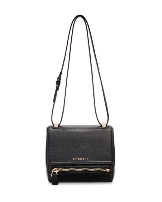 Givenchy   Чёрный Black Mini Pandora Box Bag