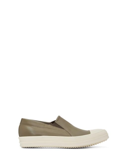 Rick Owens | 341 Dna Dust Taupe Boat Slip-On Sneakers
