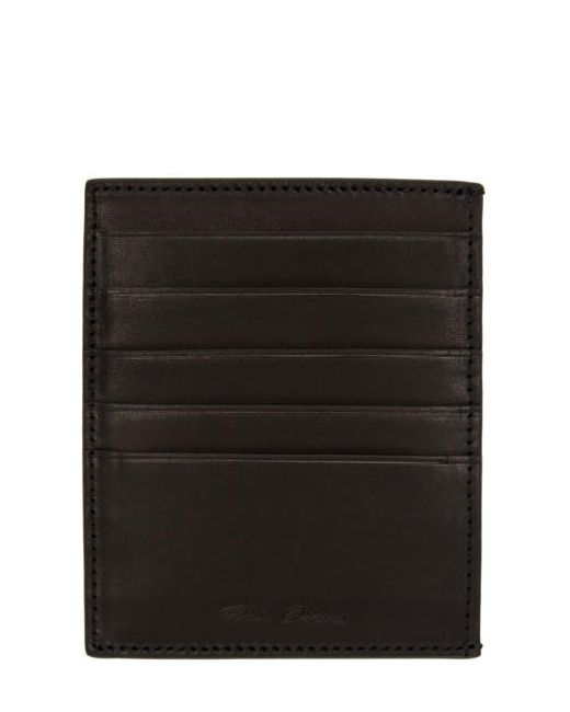Rick Owens | Чёрный Black Card Holder