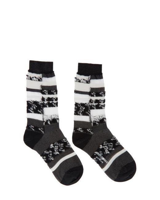 Issey Miyake | Чёрный Black Cosmos Socks