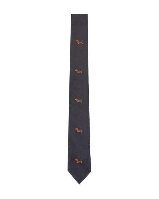 Thom Browne | 415 Navy Navy Classic Hector Tie