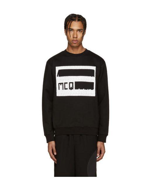 Mcq Alexander Mcqueen   Чёрный Black Logo Pullover