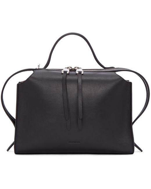 Jil Sander   Чёрный Black Small Clover Bag