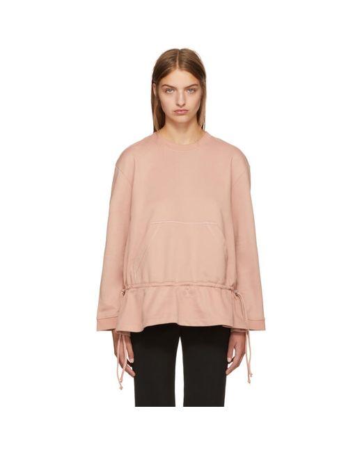 Cedric Charlier | Розовый Crewneck Sweatshirt