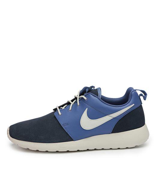 Nike   Мужские Синие Кроссовки