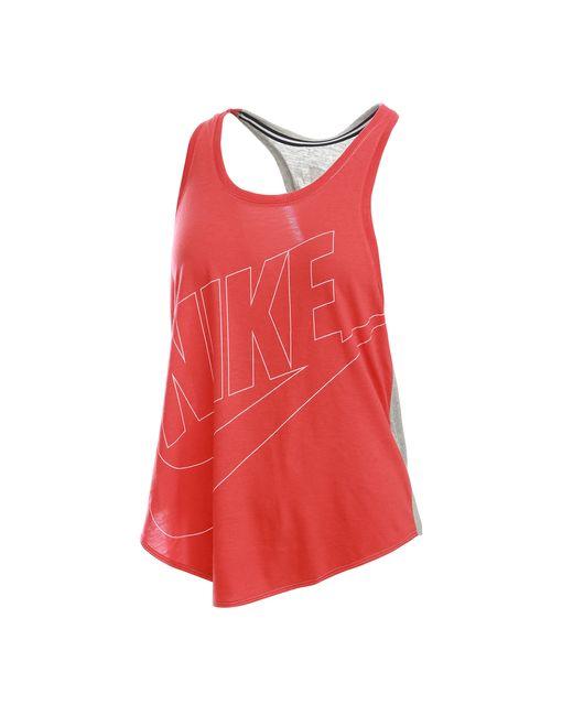 Nike | Женские Красные Футболки И Майки